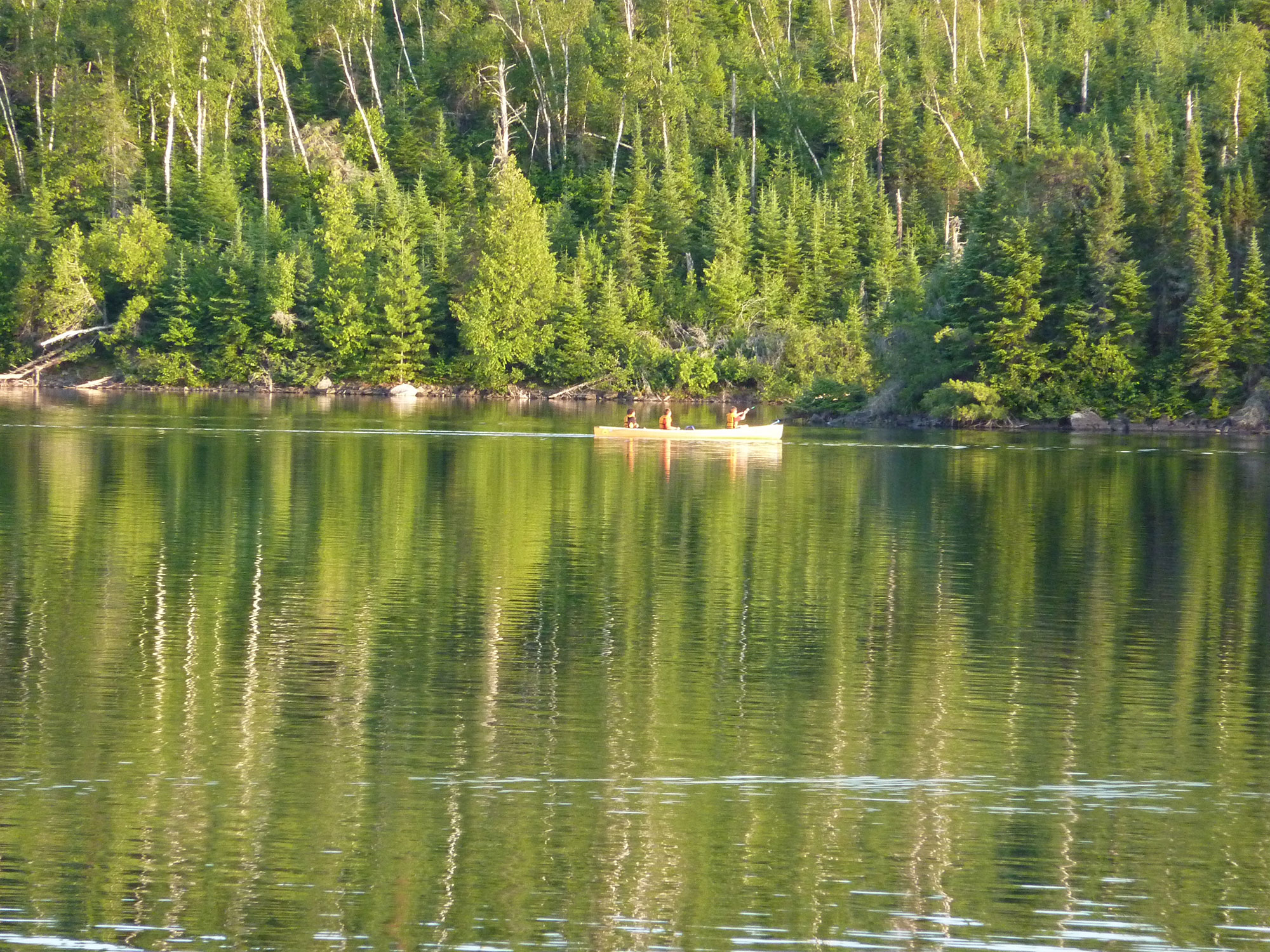 Relax in nature at the boundary waters canoe area for Ely minnesota fishing